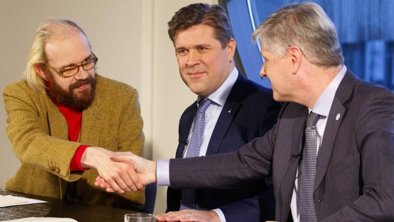 Правителството на Исландия пред разпад