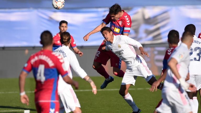 Реал губи 5 от звездите си за следващата среща в Ла Лига