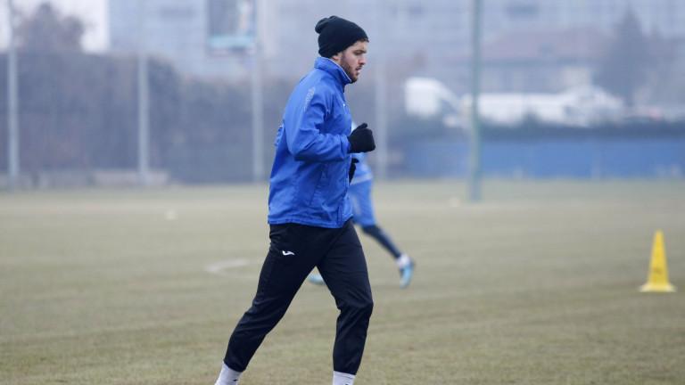 Левски вече се подготвя за важния неделен мач