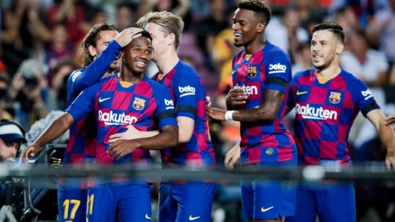 Детето-чудо на Барселона Ансу Фати се е договорил с ръководството