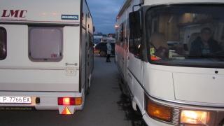 """Махат караваните и палатките на къмпинг """"Градина"""""""