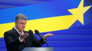 Порошенко приветства американските противотанкови ракети в Украйна