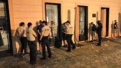 """Охранителите на стадиона в Ружомберок проверяват и обувките на """"сините"""" фенове"""