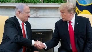 Тръмп призна суверенитета на Израел над всички еврейски селища, хвали се Нетаняху