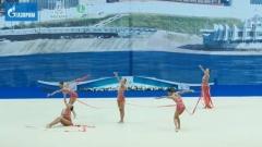 Злато за ансамбъла ни по художествена гимнастика