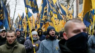 Сблъсъци на Майдана на годишнината от Революцията на достойнството