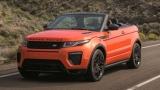 Land Rover представи джипа кабриолет Evoque (ВИДЕО)
