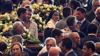 Хиляди погребаха загиналите при срутването на моста в Генуа