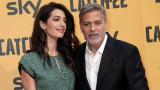 Двойният празник на Джордж и Амал Клуни