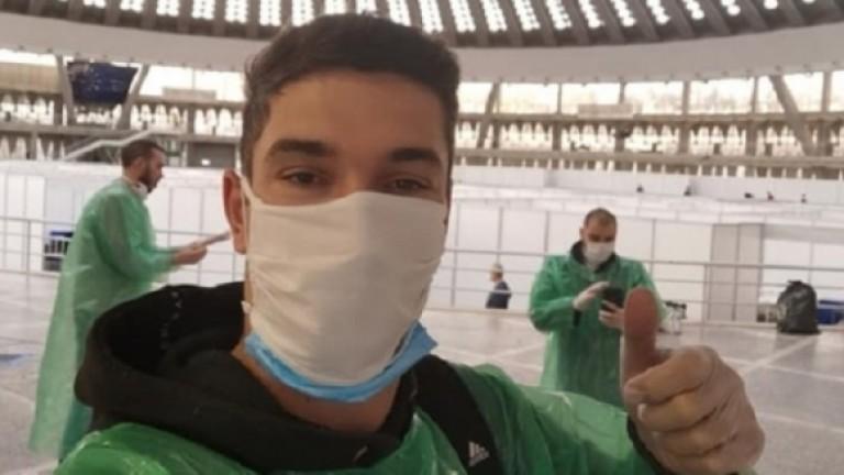 Сръбският национал Никола Росич е третият волейболист, който пребори коронавируса.