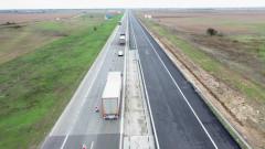 """Ремонтираха 12 км на АМ """"Тракия"""" между п.в. """"Белозем"""" и п.в. """"Оризово"""" към Бургас"""