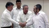 Колумбия няма да избързва за споразумението с ФАРК