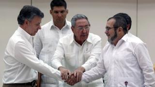 Колумбия и ФАРК постигнаха споразумение