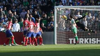 Седем жълти картона, решителна дузпа и втора загуба за Атлетико (Мадрид) в Ла Лига през сезона