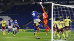 Брайтън и Бърнли откриха осмия кръг в Англия с постно 0:0