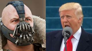 В речта в Капитолия: Тръмп цитира злодей от филм за Батман