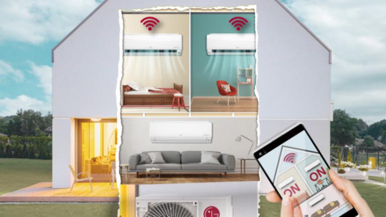 LG пуска климатици с Wi-Fi