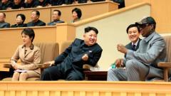 Родман поздрави Тръмп за Пхенян