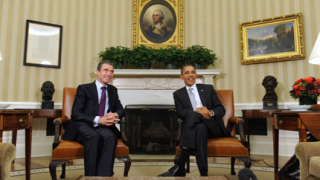 Обама обсъди Либия с Расмусен
