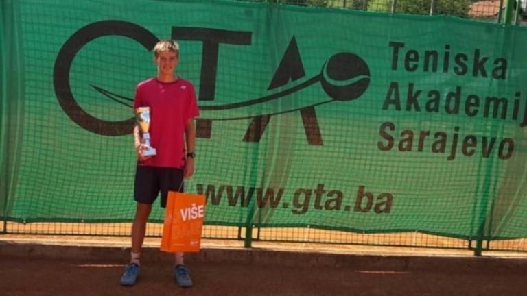 Страхотен успех! Пьотр Нестеров завърши втори на двойки на US Open