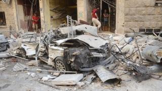 """""""Ислямска държава"""" изби десетки с камион бомба в сирийския град Камишли"""