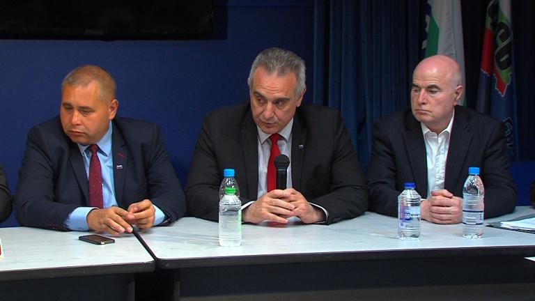НФСБ обеща подкрепа на малките търговци на горива