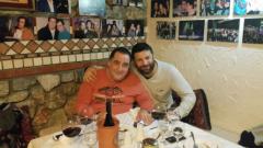 Тони Стораро на гости на Василис Карас