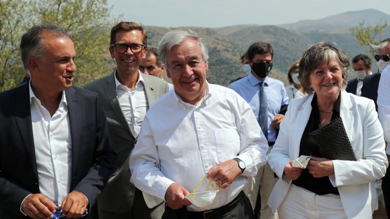 """Шефът на ООН: Сътрудничество по проблемите на климата или """"ще бъдем обречени"""""""
