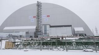 Нов уникален саркофаг покри гръмналия реактор в Чернобил