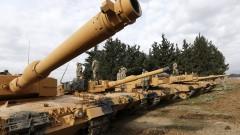 Турция трупа танкове по границата със Сирия