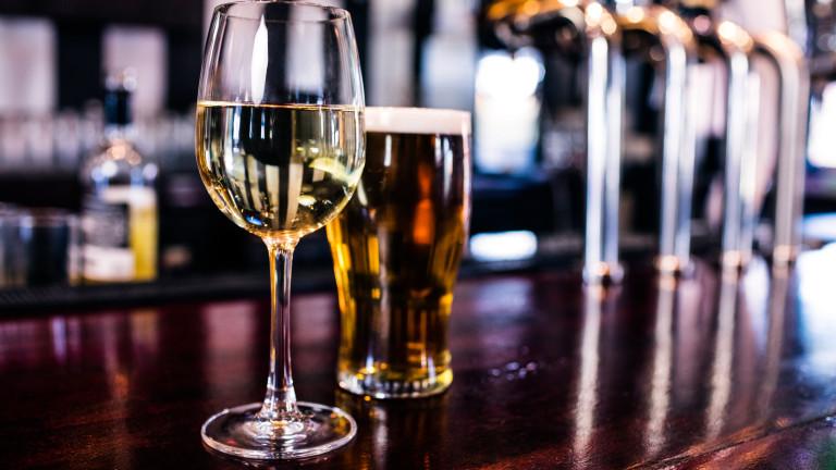 Учени: Няма значение бира преди вино или вино преди бира