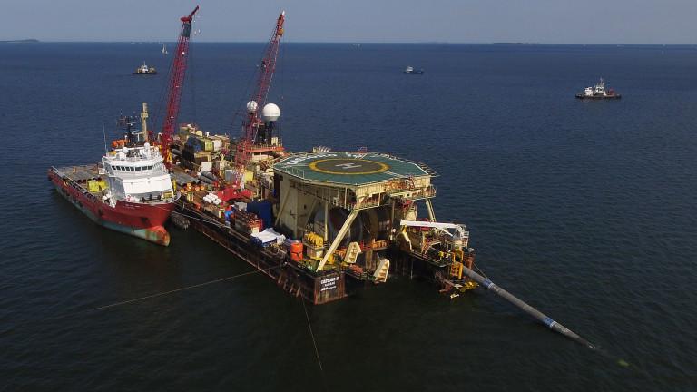 """Украйна обсъжда със САЩ мерки срещу """"Северен поток 2"""""""