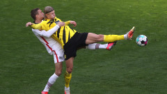 Айнтрахт отдалечи Борусия (Дортмунд) от Шампионска лига