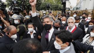 Перу с нов президент, трети поред за месец