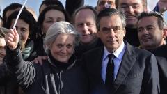 Повдигнаха обвинения и на съпругата на Франсоа Фийон