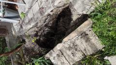 Строеж срути улица във Варна