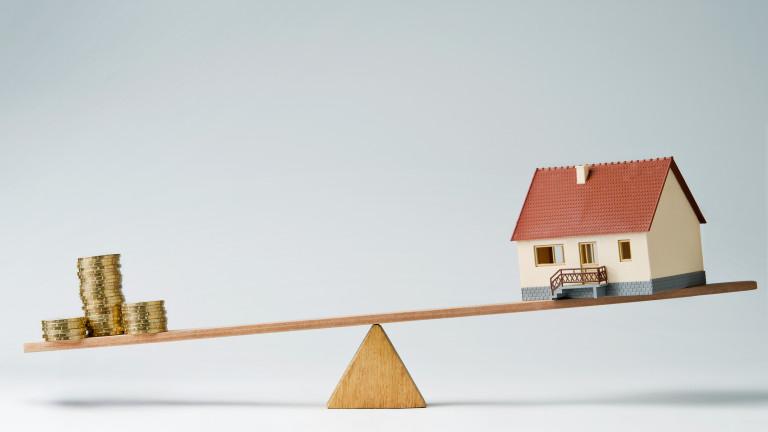 Какви лихви ще платите за ипотечен кредит в България и в Европа?