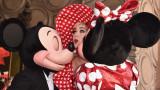 Мини Маус със звезда на Алеята на славата в Холивуд