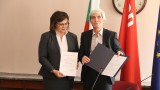 Корнелия Нинова получи удостоверението си за лидер на БСП