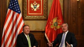 Помпео е в Черна гора, обсъжда НАТО и намесата на Русия