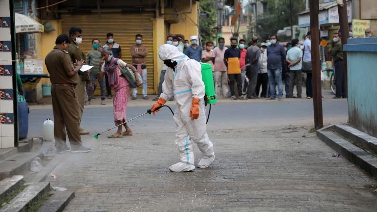 Индия с над 9 млн. заразени