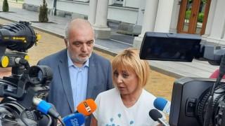 Манолова обвини Митева в нарушение на Конституцията с отказа за извънредно заседание на НС