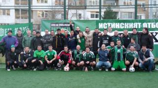 """""""Беркут"""" приема бургаските фенове...зад вратата"""