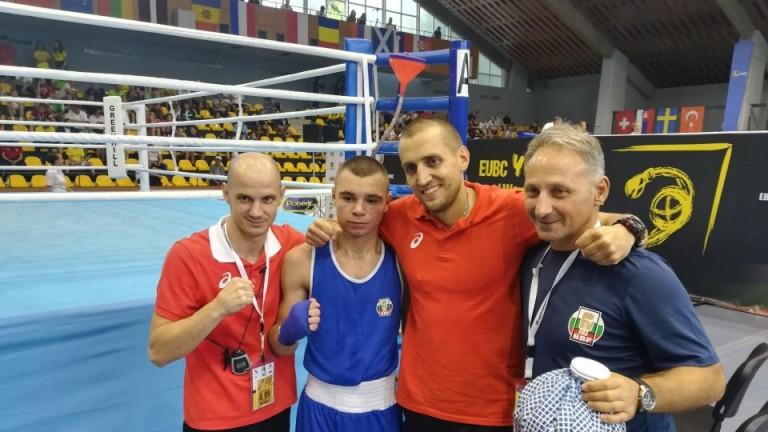 Ясен Радев донесе злато на България на Европейското по бокс