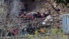 Двама загинали при рухване на стена в историческия център на Истанбул