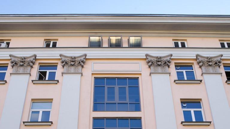 Полиграфическият комбинат в София вече е модерен бизнес център. След