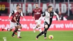 Ювентус - Милан 0:0, Роналдо изпусна дузпа, Ребич получи червен картон