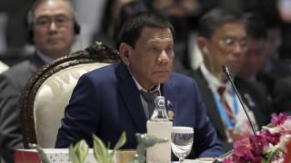 Дутерте премахва военното положение във Филипини