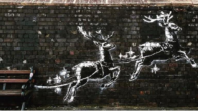 Banksy е не само един от най-известните графити художници на
