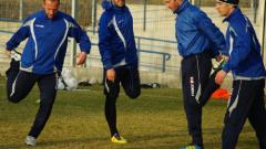 Тинката тренира с Черноморец